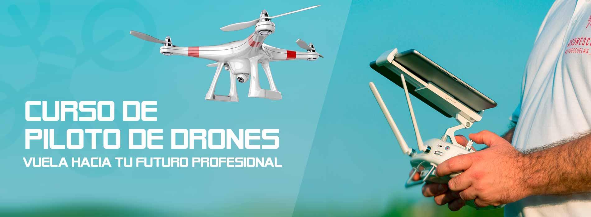 curso piloto de drones valencia